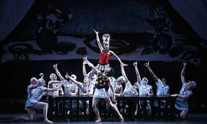 "Melissa Barak commands the stage as the Siren in Los Angeles Ballet's ""Prodigal Son"""