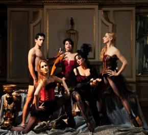[LA Weekly] A Cabaret-Ballet Mash-up at the Swanky AlexandriaBallroom
