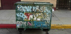 [Blog] Jean-Michel Basquiat Dumpster: Art is Everywhere!
