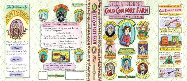 Cold Comfort Farm cover illustrations by Roz Chast