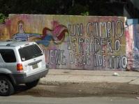 """Un cambio verdadero viene desde adentro"" -- true change comes from inside."