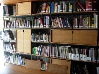 the library at the Tijuana Culinary Art School