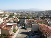 the view from the lovely neighborhood where we stayed with friends
