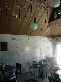 interior of the deli - so cute!