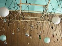 creative ceiling display