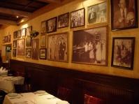 the inside of classic restaurant Ceasar's on Avenida Revolucion