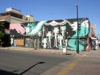 a cool mural on Avenida Revolucion