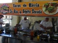 """Tijuana """"fast food"""" outside Mercado Hidalgo"""
