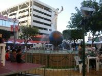 my favorite Tijuana spot -- right in front of El Foro Palacio Antiguo de Jai Alai