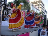 Mexican folklorico at the Tequila Expo