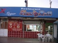 Taco Bell, Tijuana style, near the border