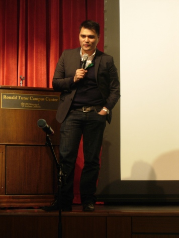 Jose Antonio Vargas at USC / D. Solomon