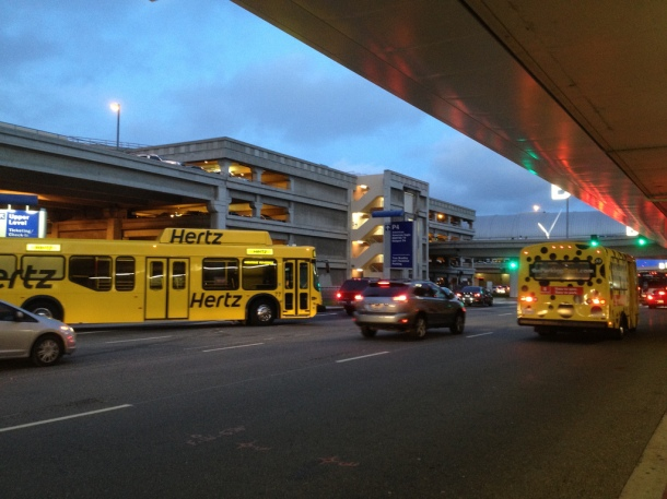 Public transportation to LAX is a challenge. | Flickr/Margalit Francus