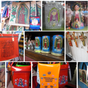 [USC] Photo Essay: The Virgin of Guadalupe at Olvera St.