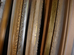 [Blog] Back at Ted Gibson's framing shop, this time in for asurprise