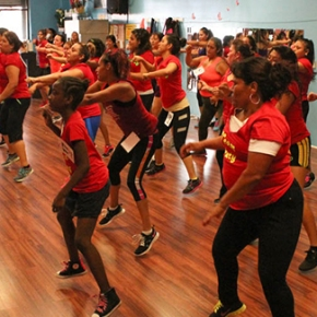 [Intersections] Zumba boom in South LA's concrete desert