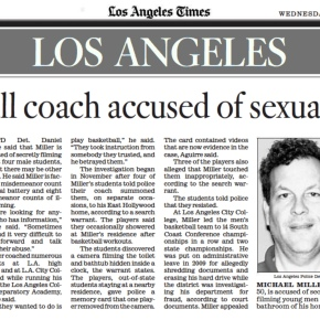 [LA Times] Basketball coach accused of sexualbattery