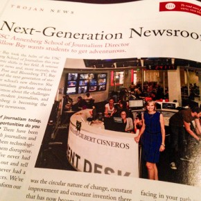 [Trojan Family Magazine] Next-Generation Newsroom