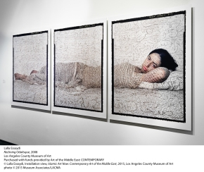 "[Ampersand LA] LACMA's ""Islamic Art Now"" highlights femalevitality"